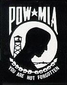 POW - MIA  You Are Not Forgotten
